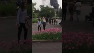 Пожар в Москве 10.06.2017