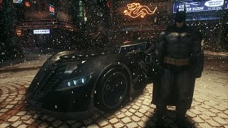 Batman: Arkham Knight - Arkham Asylum Batmobile Free Roam Gameplay