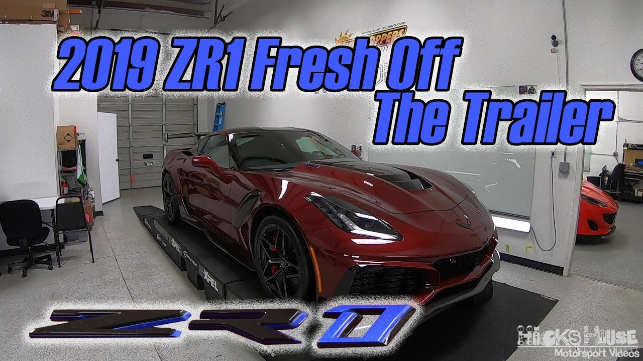 Custom Ordered 2019 Long Beach Red Chevrolet Corvette ZR1 ...