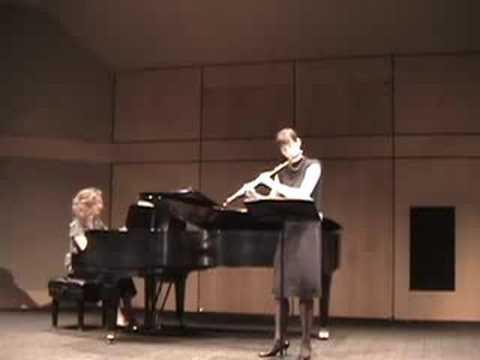 Nina Perlove, flute: Pan from Roussel's Joueurs de Flute