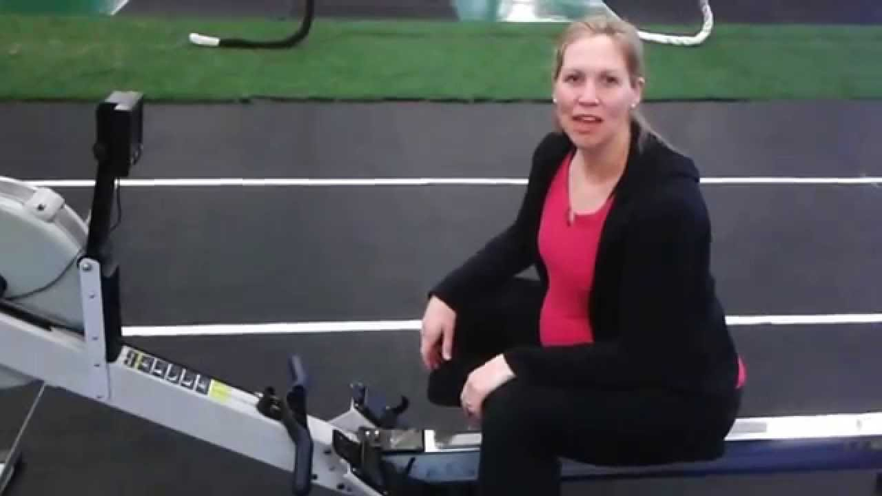 how to use the rowing machine