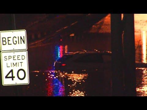 Overnight flash flood emergency in Dallas