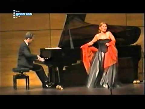María Bayo. Recital Liceu 2001.