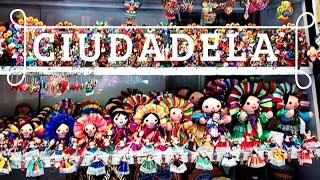 🇲🇽 MERCADO LA CIUDADELA de la CIUDAD de  MEXICO 🇲🇽 LAS MEJORES ARTESANIAS MEXICANAS
