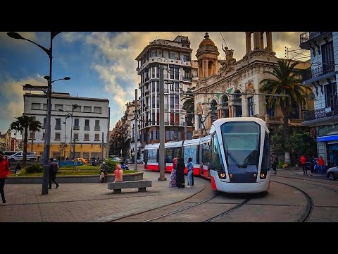 Oran Tramway , Algeria 🇩🇿 : What does a tramway look like in Africa ?
