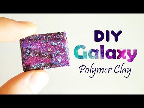 DIY Galaxy Polymer Clay Tutorial