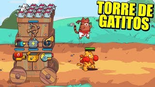 CAT & ROBOT - LA TORRE DE GATOS CONQUISTANDO EL MUNDO | Gameplay Español