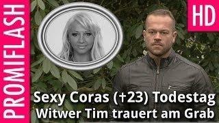 Sexy Cora (✝23) drei Jahre tot: Witwer Tim trauert am Grab
