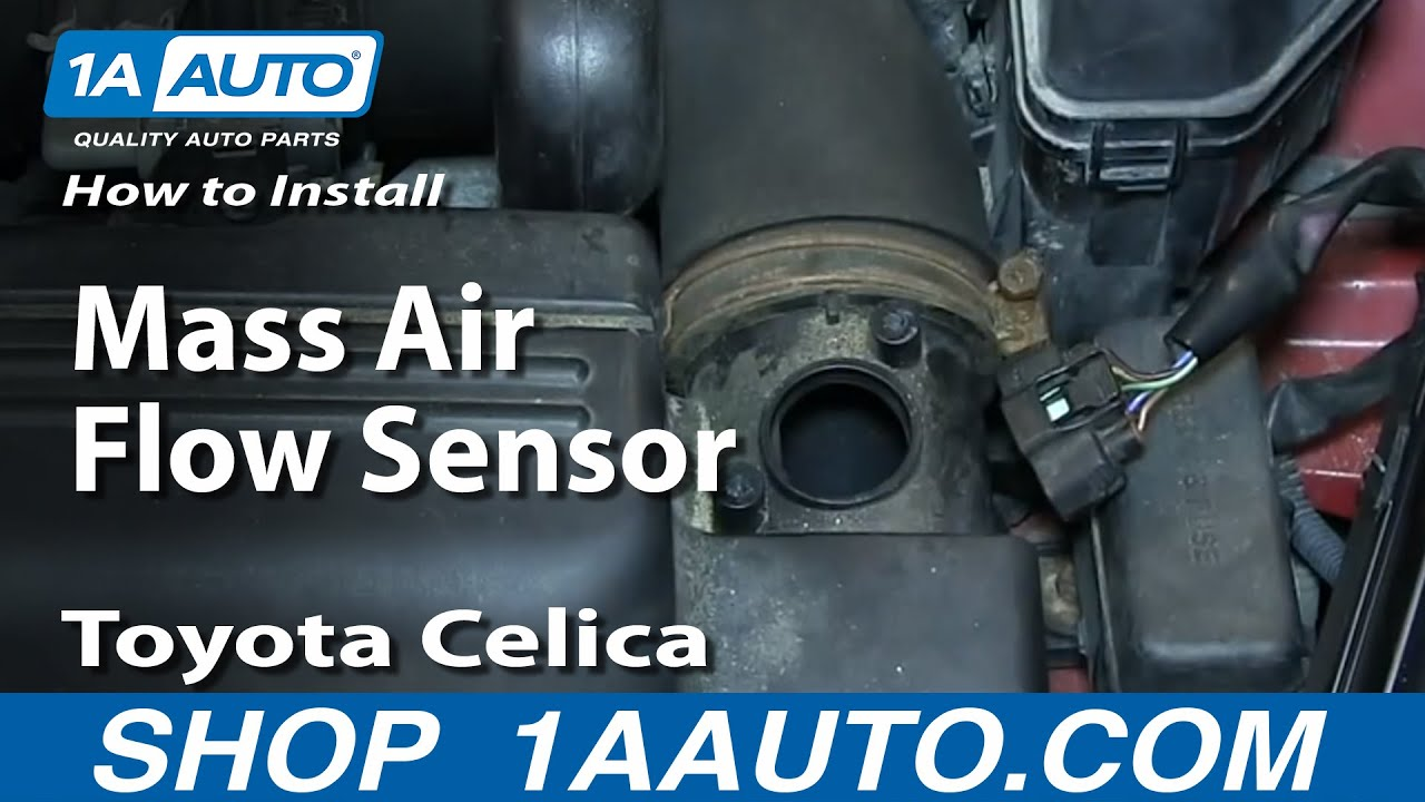 How to Replace Mass Air Flow Sensor Meter 00-05 Toyota Celica
