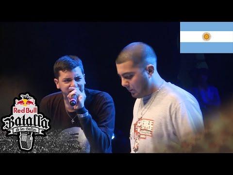 UNDERDANN vs KATRA - Octavos: Final Nacional Argentina 2016 - Red Bull Batalla de los Gallos