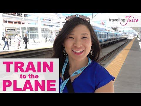 DENVER: New Train To The Plane (Denver International Airport To Downtown Denver)