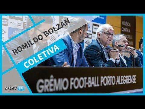 [COLETIVA] Presidente Romildo Bolzan - 01/11 l GrêmioTV