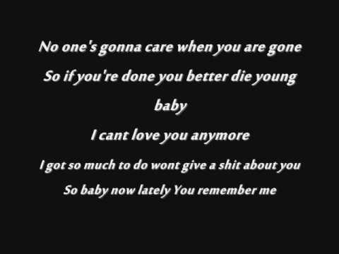 NOMY - YOU BETTER DIE YOUNG || LYRCIS*