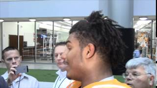 #VolReport: Jordan Williams Media Session (11/11/14)