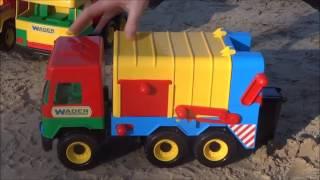 Обзор: Игрушечная машинка Мусоровоз Middle Truck Wader 32380 39224