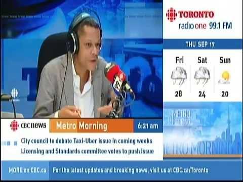 CBC Metro Morning w/ Matt Galloway -