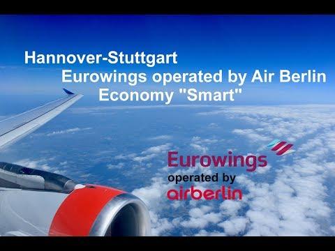 "Flight Report: Hannover-Stuttgart Eurowings Economy ""Smart"" Airbus A320"