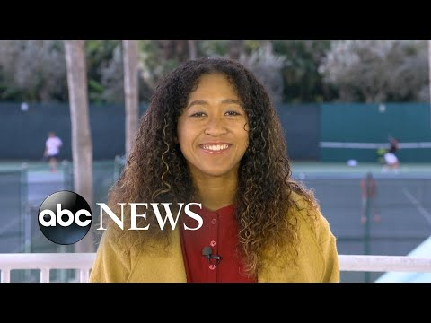 Naomi Osaka talks about her big win at the Australian Open