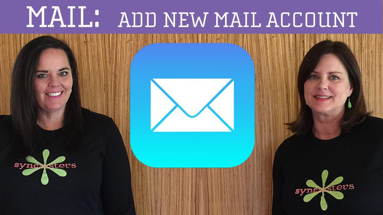 iPhone / iPad Mail - Add new mail account