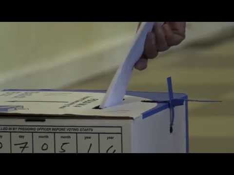 Rondebosch, Cape Town  - Election Day 2014