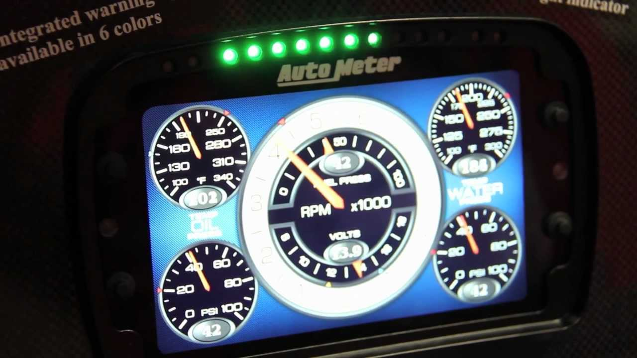 Auto Meters LCD Gauge Display Is A Whole New Level Of Technology - Auto display