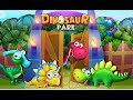 "Dinosaur Park Dino Baby Born ""Bear Hug Media Inc Educational Games"" Android Gameplay Video"