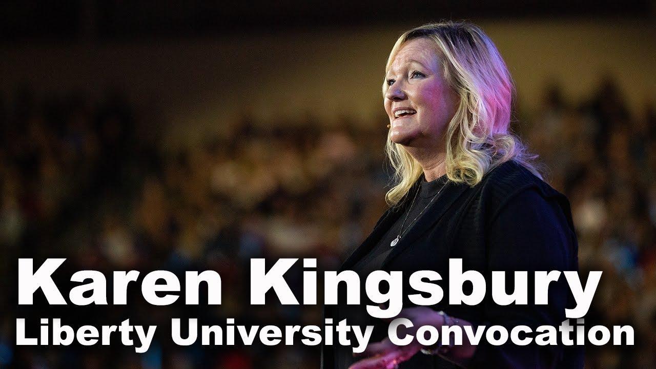 Karen Kingsbury - Liberty University Convocation