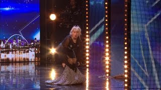 Britains Got Talent 2018 Jenny Darren Surprises Everyone Full Audition S12E02