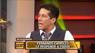 Fernando Carrillo la pasó mal en la mesa de Mirtha Legrand