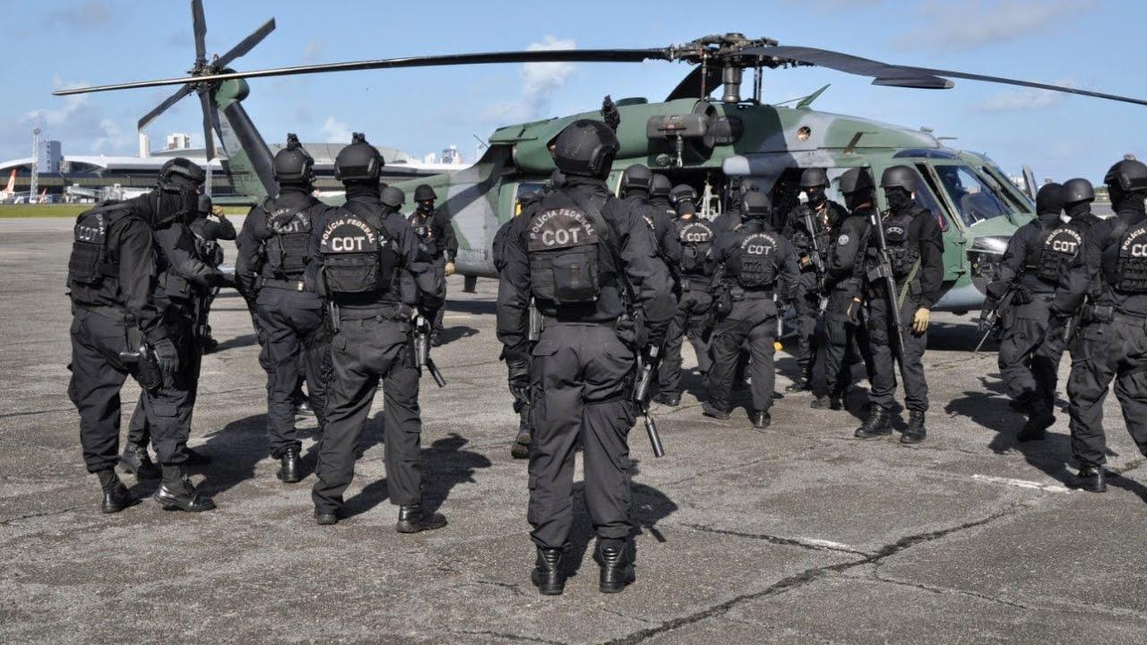 Polícia Federal - Comando de Operações Táticas COT - YouTube