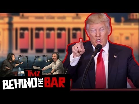 DONALD TRUMP: Can He Duck the Tough Questions for 4 Years? | Ep 27 Behind The Bar | TMZ Live