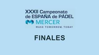 Finales del Campeonato de España Absoluto de Pádel