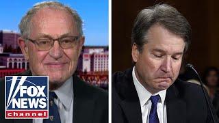 Alan Dershowitz reacts to Kavanaugh hearing