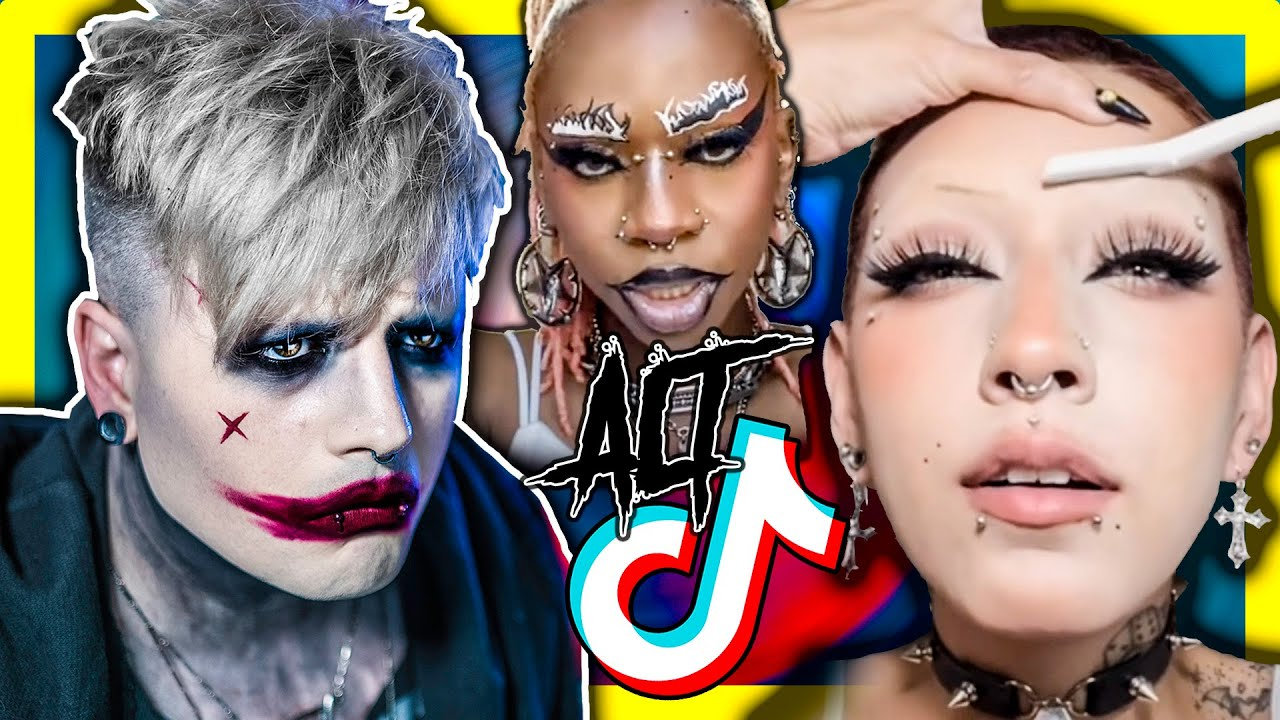 GOTH REACTS AND GETS MAD AT ALT TIKTOK