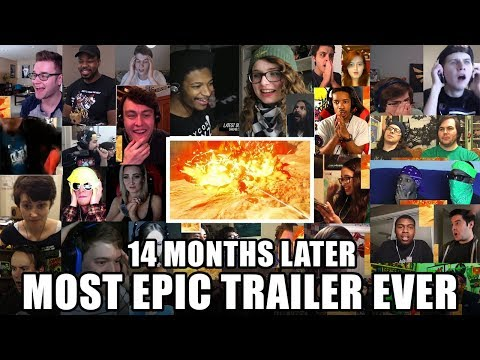 Live reaction: Zelda Breath Of The Wild | MOST EPIC video game trailer ever