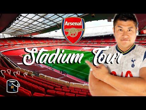 ⚽ Arsenal Emirates Stadium Tour ... in a Tottenham Shirt  -  Football Soccer Travel Ideas