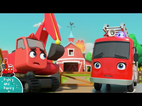 fire-truck-emergency-|-construction-vehicle-|-kids-truck-|-cartoons-and-kids-song-|-digley-and-dazey