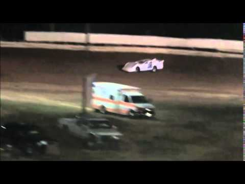 Steel Block Late Model Heat #3 from Jackson County Speedway 9/5/14.