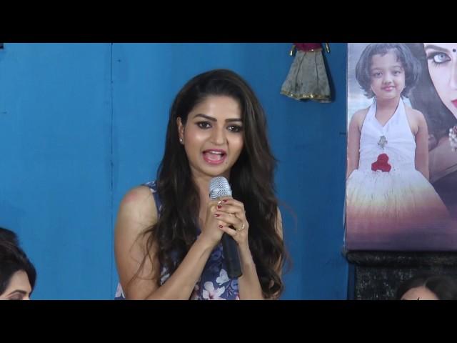 Nithya Ram at  Nandini tamil serial PressMeet