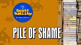 The pile of shame: games I