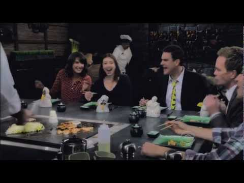 How I met your mother - Bang Bang Song - At the Japanese restaurant