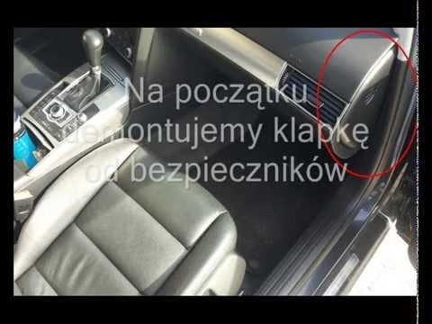 Wymiana Filtru Kabinowego Audi A6 C6 Youtube