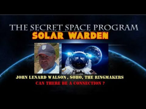 SSP, SOHO, J.L. WALSON, SATURN RINGMAKERS, AND LUNAR ANOMALIES - IS THERE A CONNECTION ?