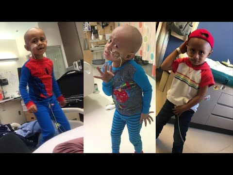 Tony Sandoval on The Breeze - 5 y/o with Cancer Dances to Michael Jackson during Chemotherapy Treatment