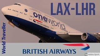 FlyWithMe!   FLIGHT REPORT   Los Angeles to London   British Airways World Traveller ECONOMY 747-400