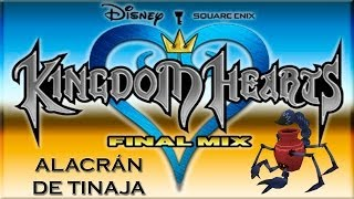 Kingdom Hearts Final Mix Alacrán de tinaja (Pot Scorpion) + Roca de mitrilo (Mythril Stone)