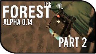 The Forest 0.14 Gameplay Part 2 – Scuba Gear/rebreather + A Map!?!