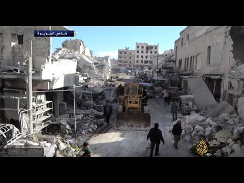 40 قتيلا بغارات روسية على سوق شعبي بريف إدلب