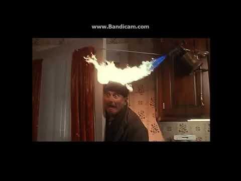 Patrick Araujo TheMovieEntertainment's Head Catches on Fire