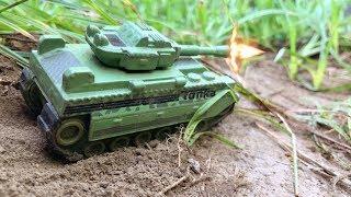 WW2 American Tanks Encounter With Advanced German Tanks | Kids Toys